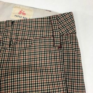 Anthropologie Pants - Anthropologie sz 8 Paper Boy Plaid Trouser Pant